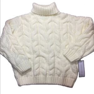 NWT Goodnight macaroon turtleneck knit sweater